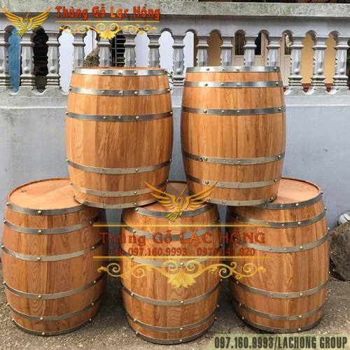 20+ Mẫu Thùng Rượu Gỗ Trang Trí Đẹp Hút Hồn