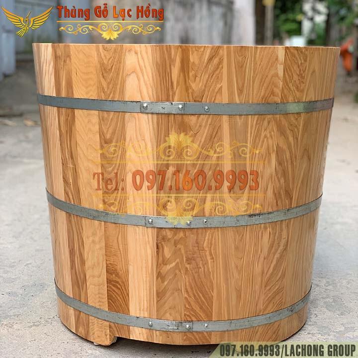 bồn gỗ tắm thuốc bắc