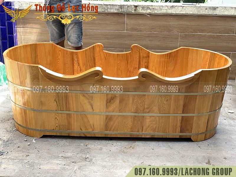 có nên dùng bồn tắm gỗ