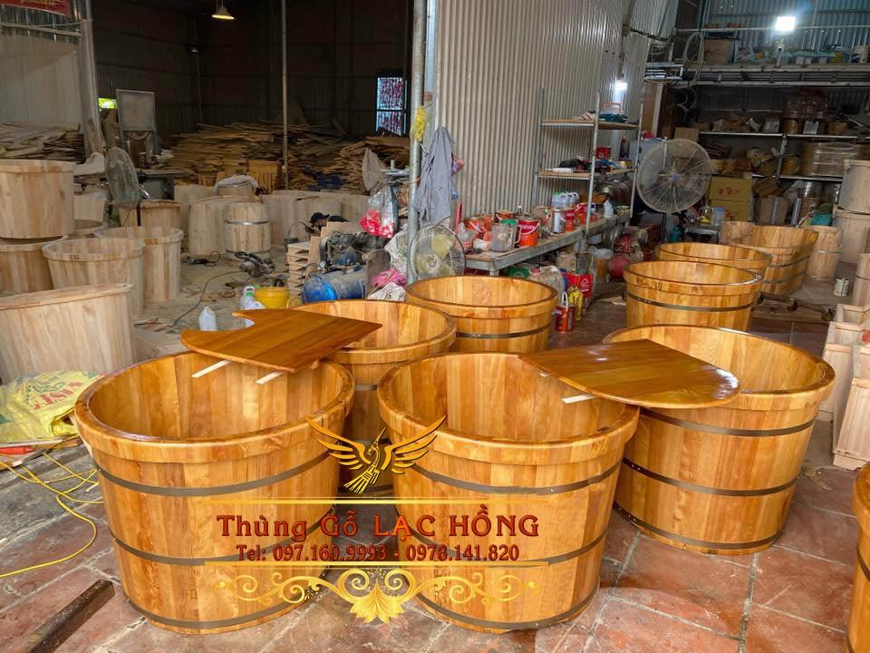 bồn tắm gỗ giá rẻ