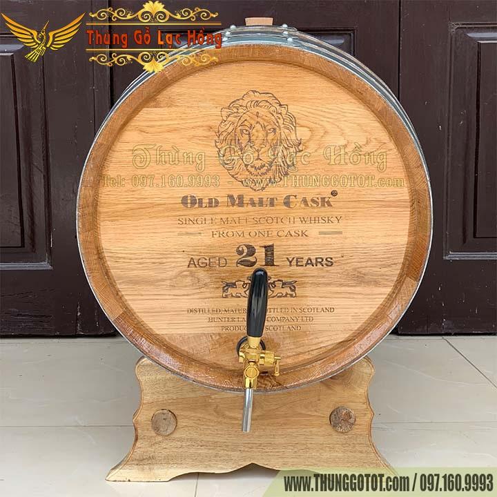 bán thùng gỗ đựng rượu vang