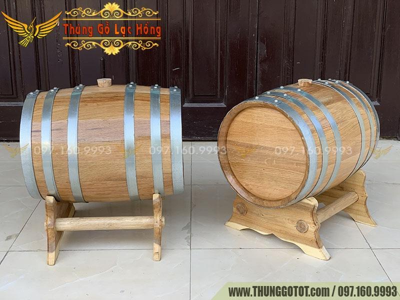 boom rượu gỗ Sồi