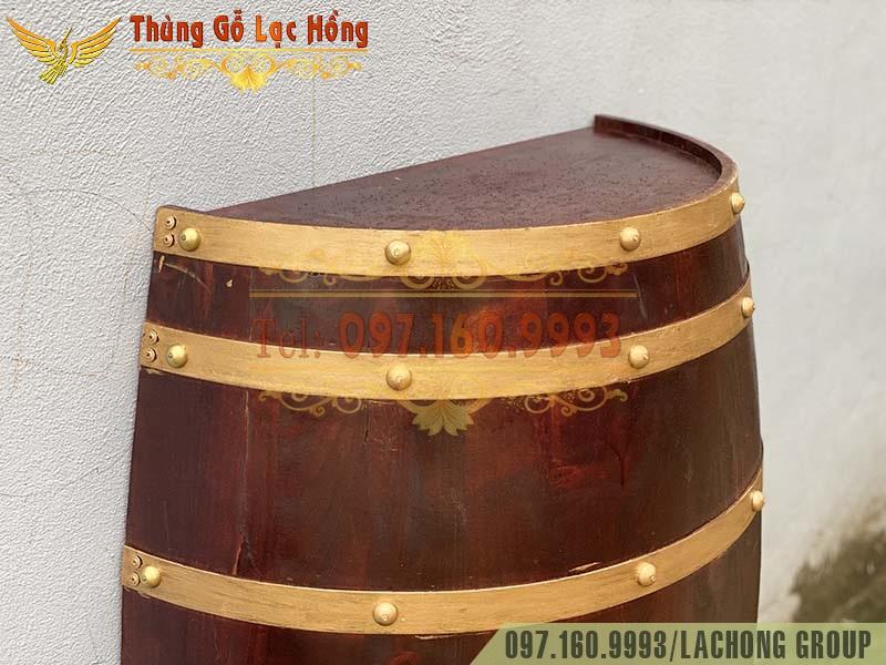 thùng rượu trang trí