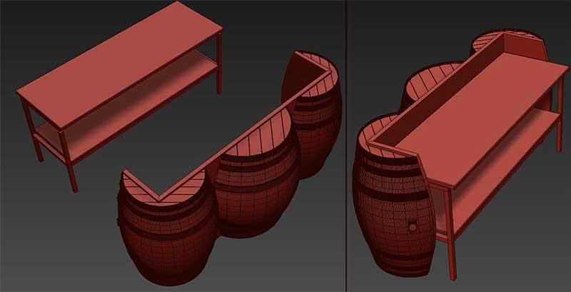 bán thùng gỗ đựng rượu cũ