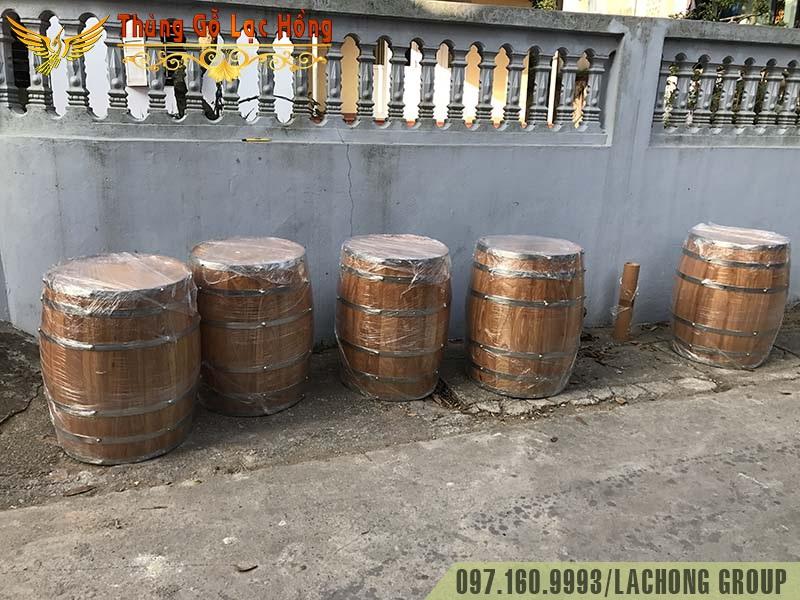 bán thùng gỗ cafe