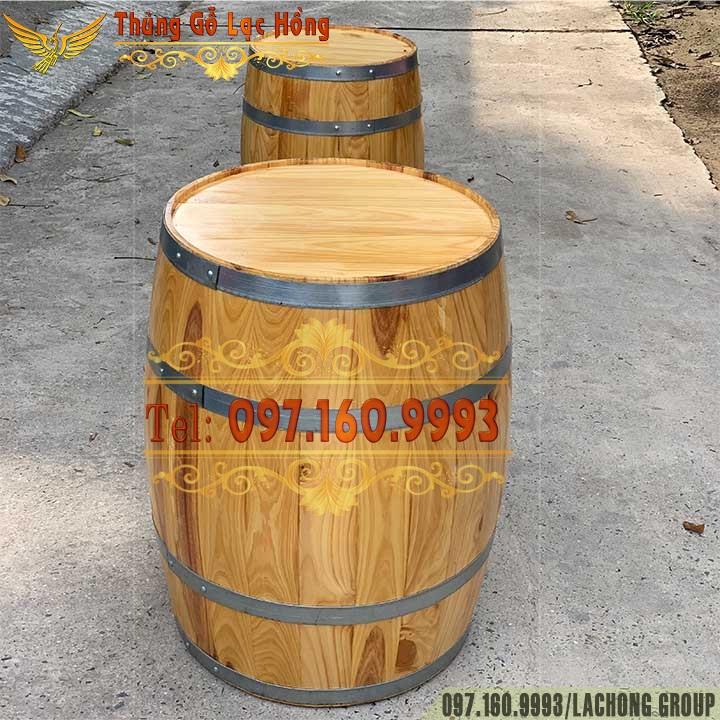 bom rượu gỗ cũ